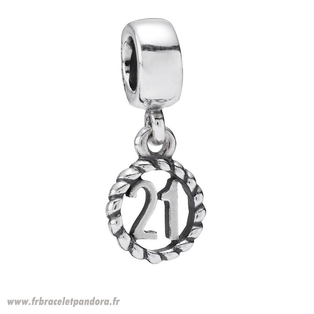 Original 21Eme Anniversaire Dangle Charme Bijoux Discount