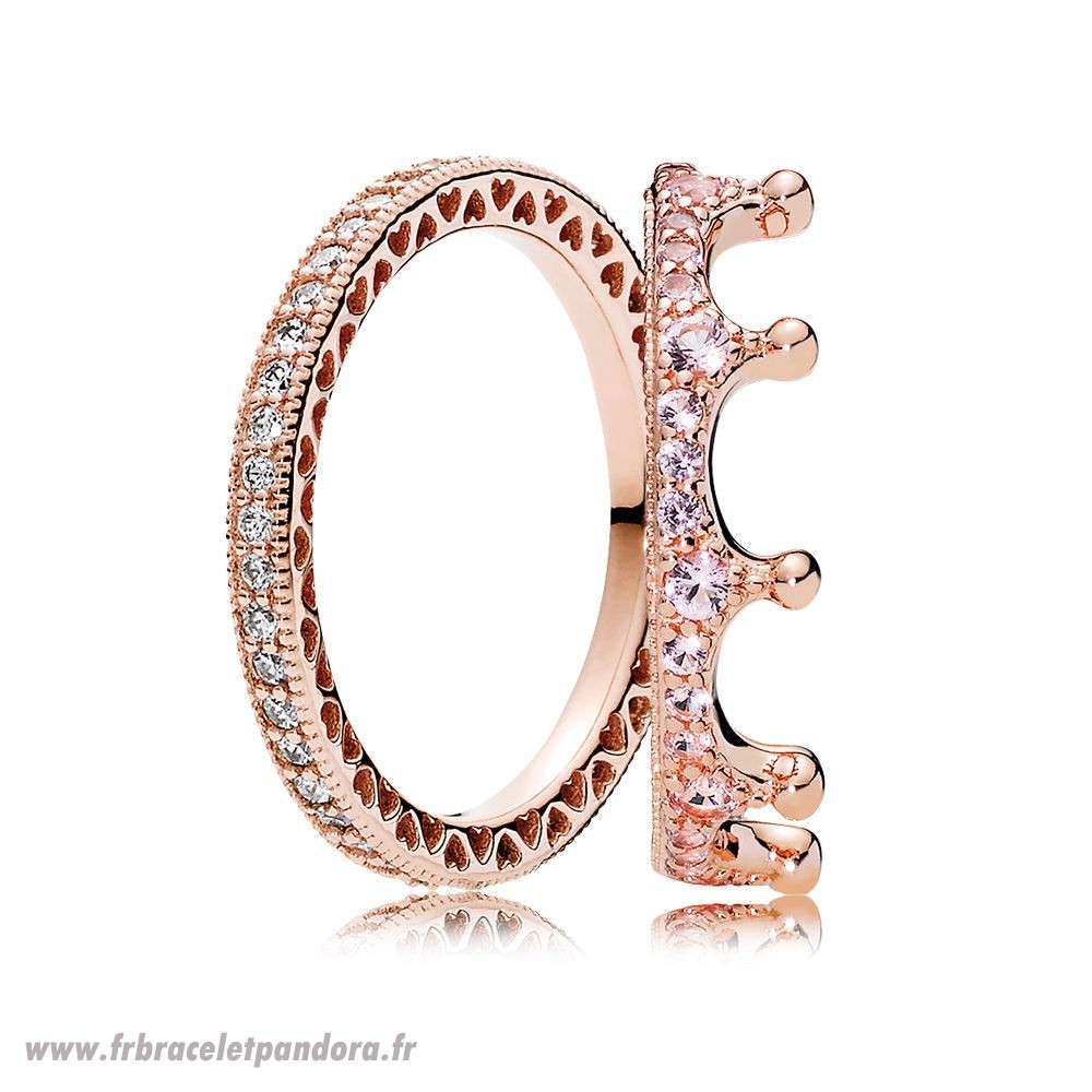 Original Pandora Rose Enchanteur Bague Stack Bijoux Discount