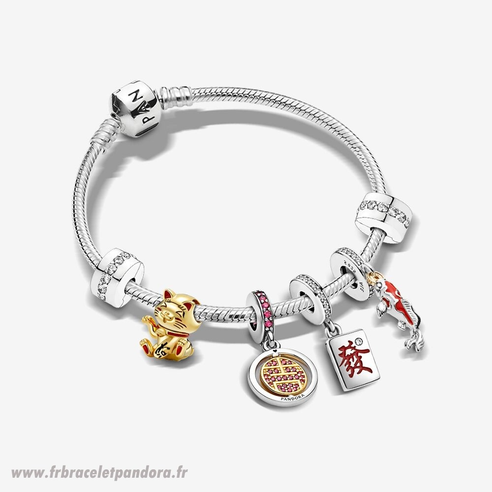 Original Bonne Chance Bracelets Ensemble Bijoux Discount