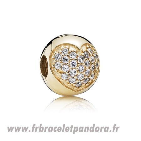 Original Amour Of Ma Life Clip Clear Cz 14K Or Bijoux Discount