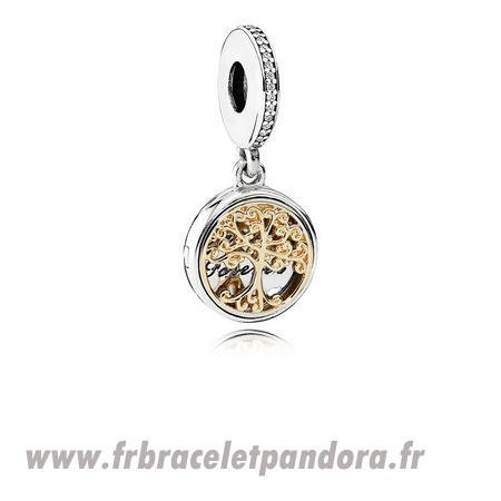 Original Dangle Charms Famille Roots Clear Cz Bijoux Discount