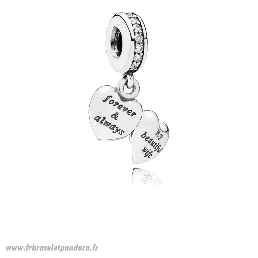 Original Dangle Charms Ma Belle Femme Clear Cz Bijoux Discount