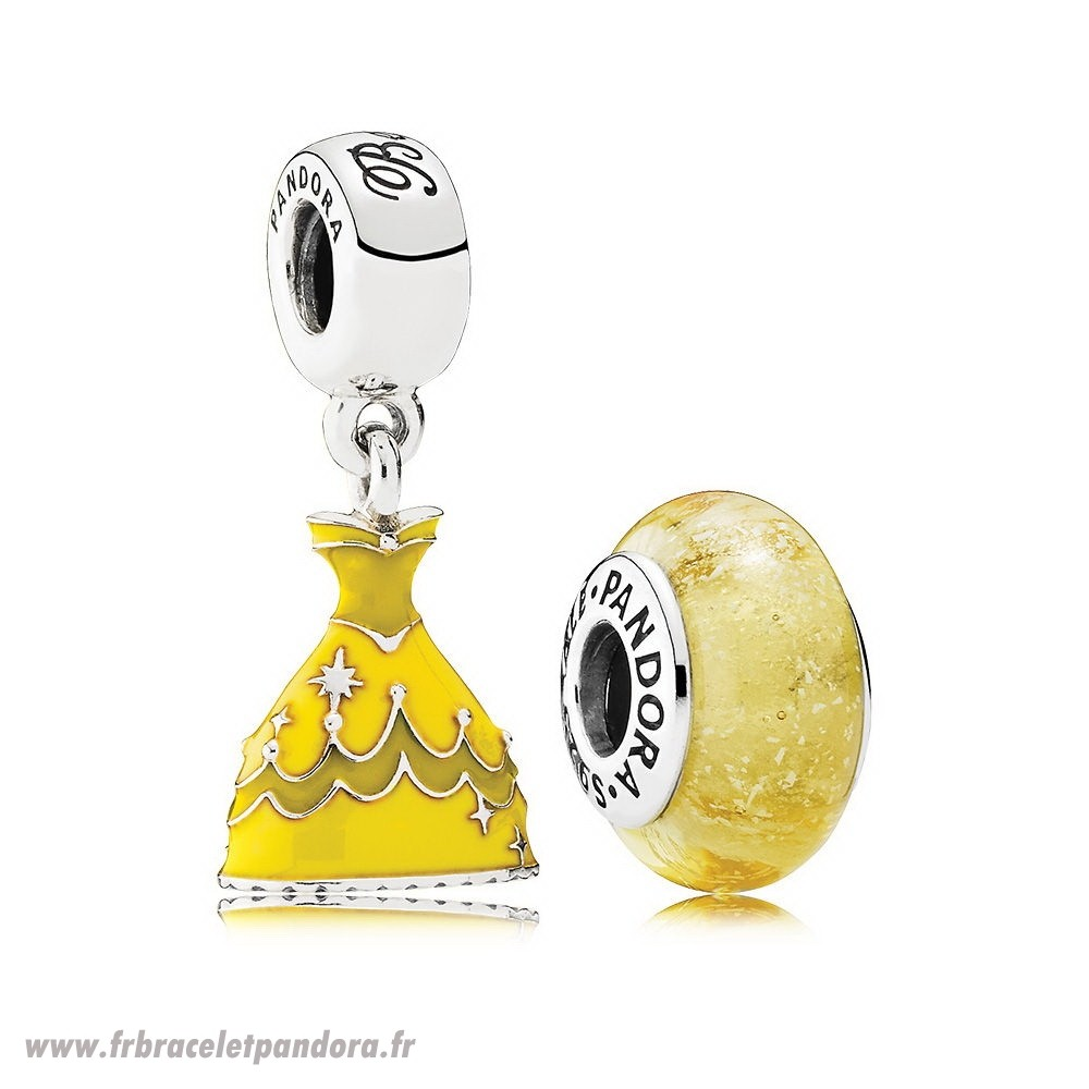 Original Disney Belle Charm Pack Bijoux Discount