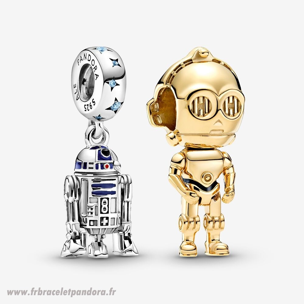 Original Disney Star Wars Droid Charm Pack Bijoux Discount