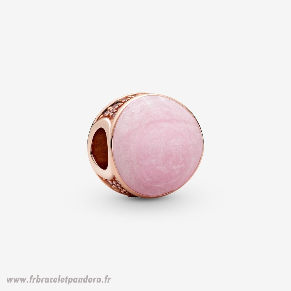 Original Breloque Tourbillon Rose Bijoux Discount