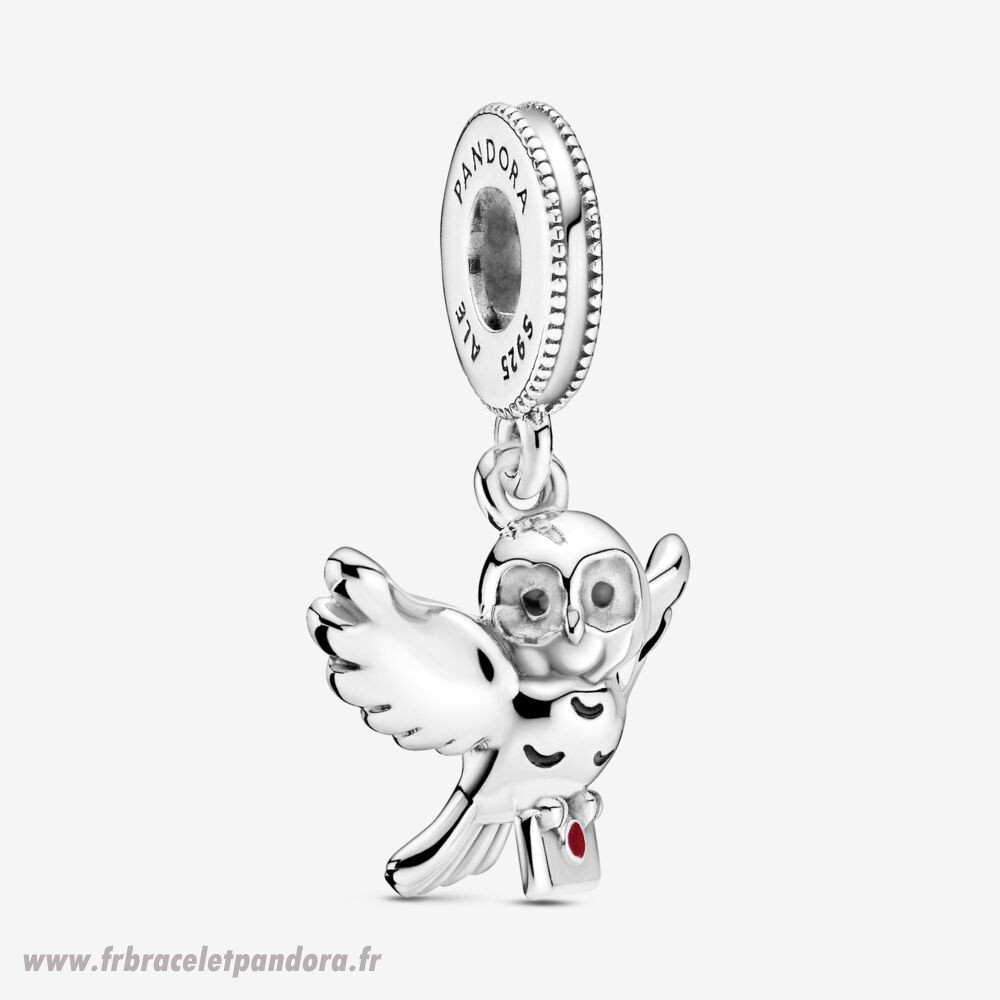Original Harry Potter, Hedwig Owl Dangle Charm Bijoux Discount