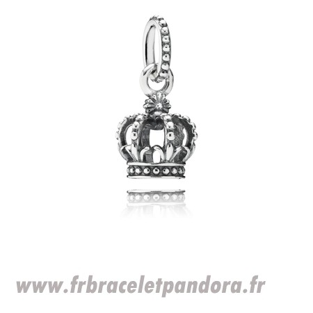 Original Pandora Fairy Tale Charms Noble Splendor Crown Dangle Charm Bijoux Discount