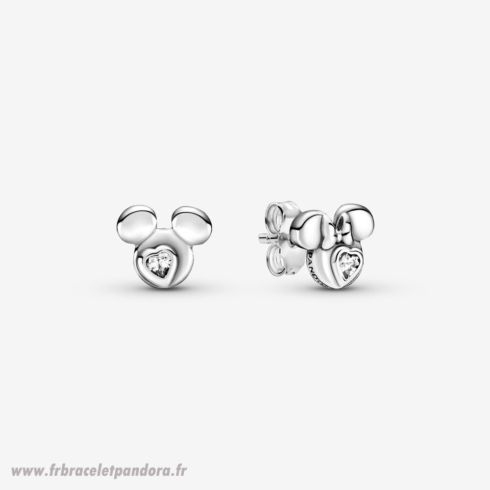 Original Disney Mickey Mouse Et Minnie Mouse Silhouette Goujon Boucles D'Oreilles Bijoux Discount