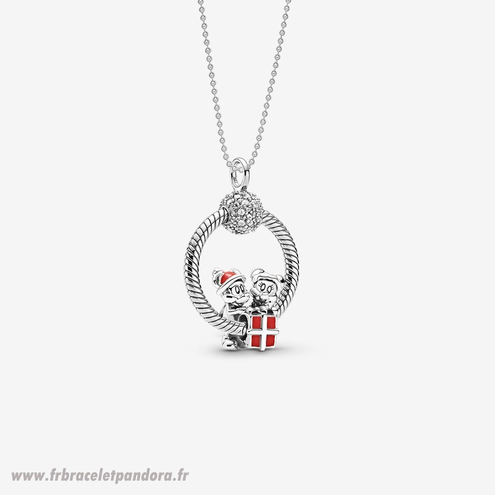 Original Disney Mickey Et Minnie O Pendant Ensemble Bijoux Discount
