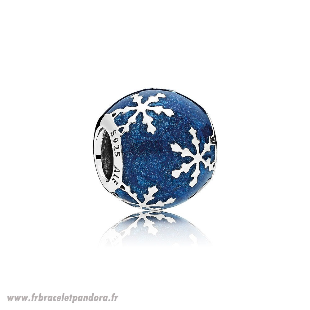 Original Nature Charms Charme Delice Midnight Blue Enamel Bijoux Discount